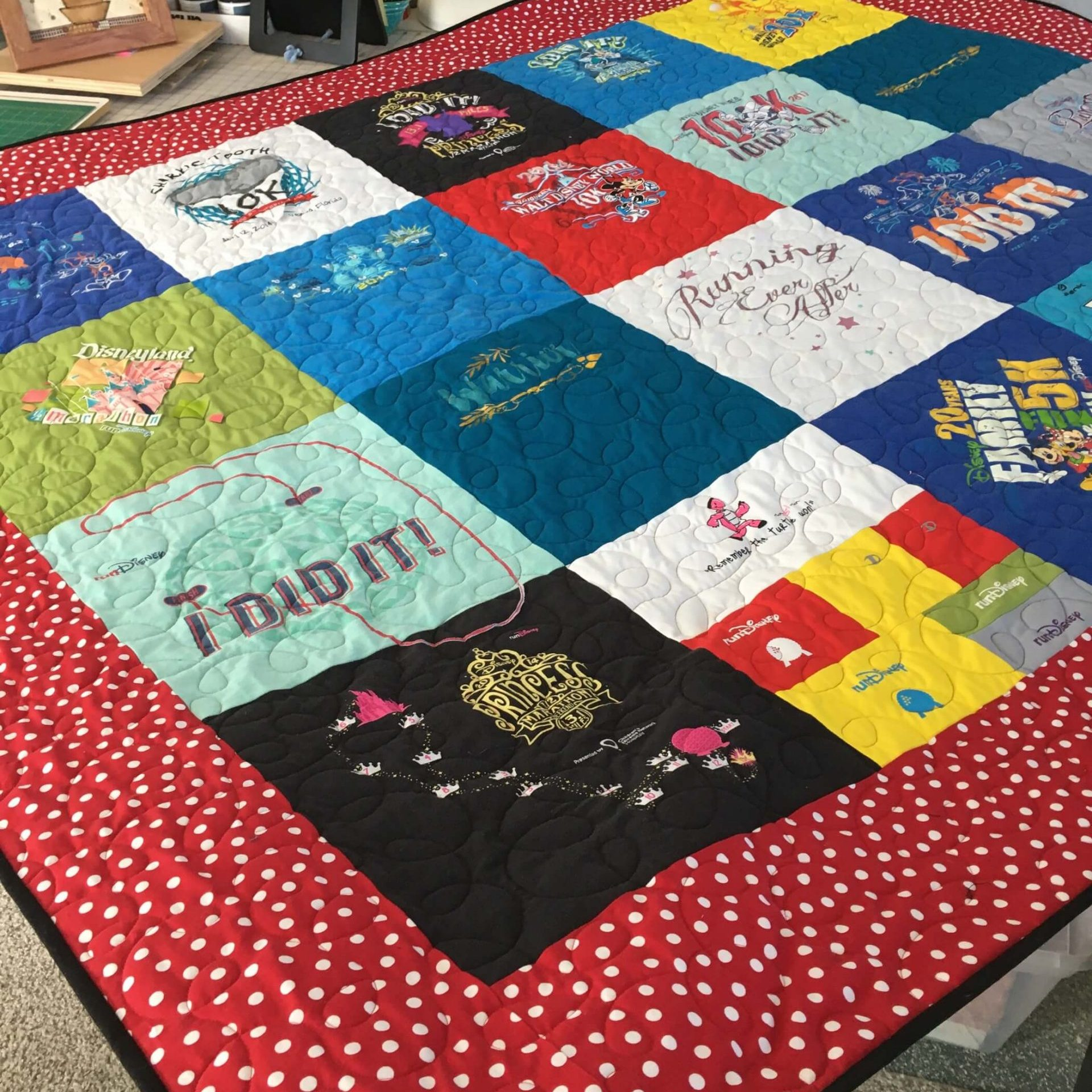 Smoky Mountain Quilt Studio | Knoxville, TN | Top Quilting | T-Shirt Quilts